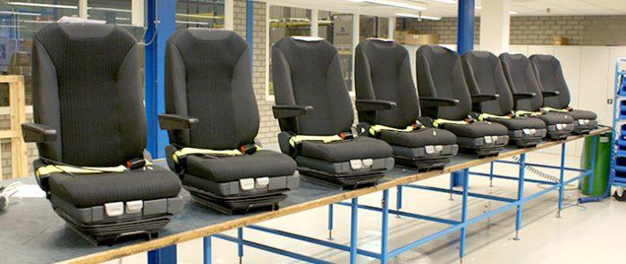 Serie ISRI NTS stoelen