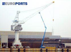 ISRI kraanstoelen voor havenkraan Europort Antwerpen